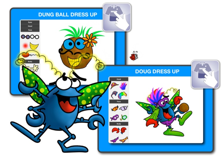 Dougs activity book page 4