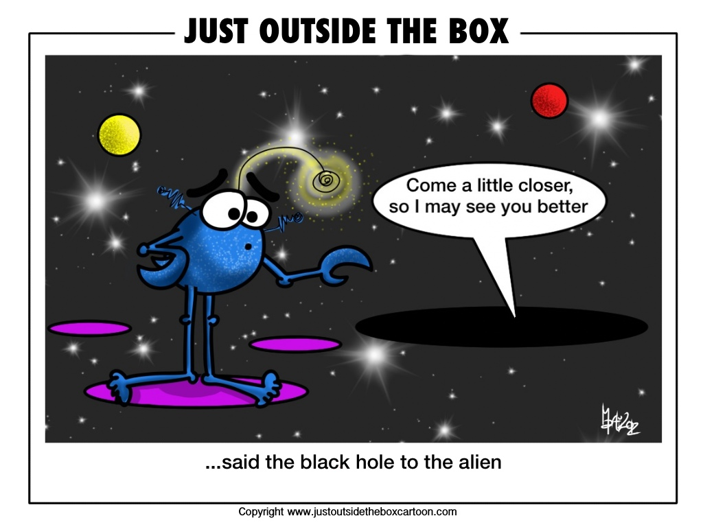 Funny Black Hole Comic - Pics about space