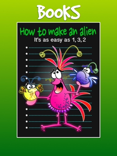 How to make an alien book