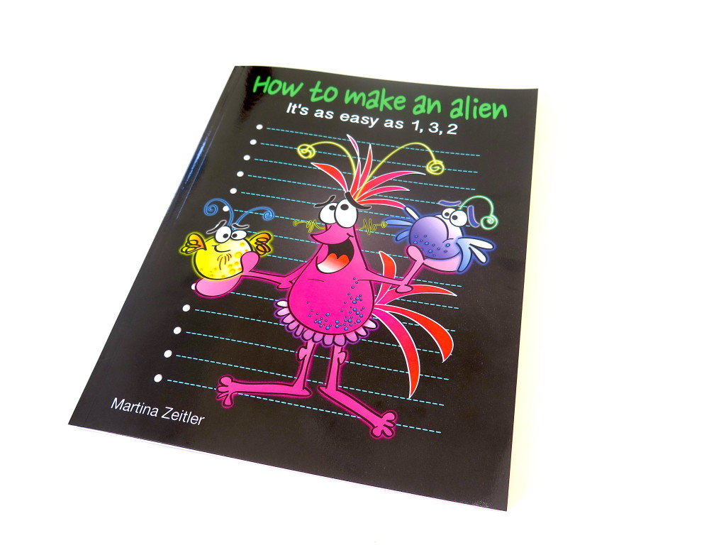 How To Make A Softcover Book : How to make an alien book is available in paperback just