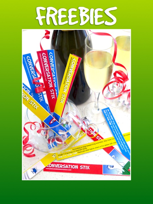 Giveaway party ice breaker