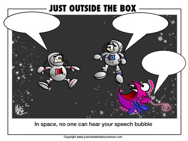 why can't you hear in space