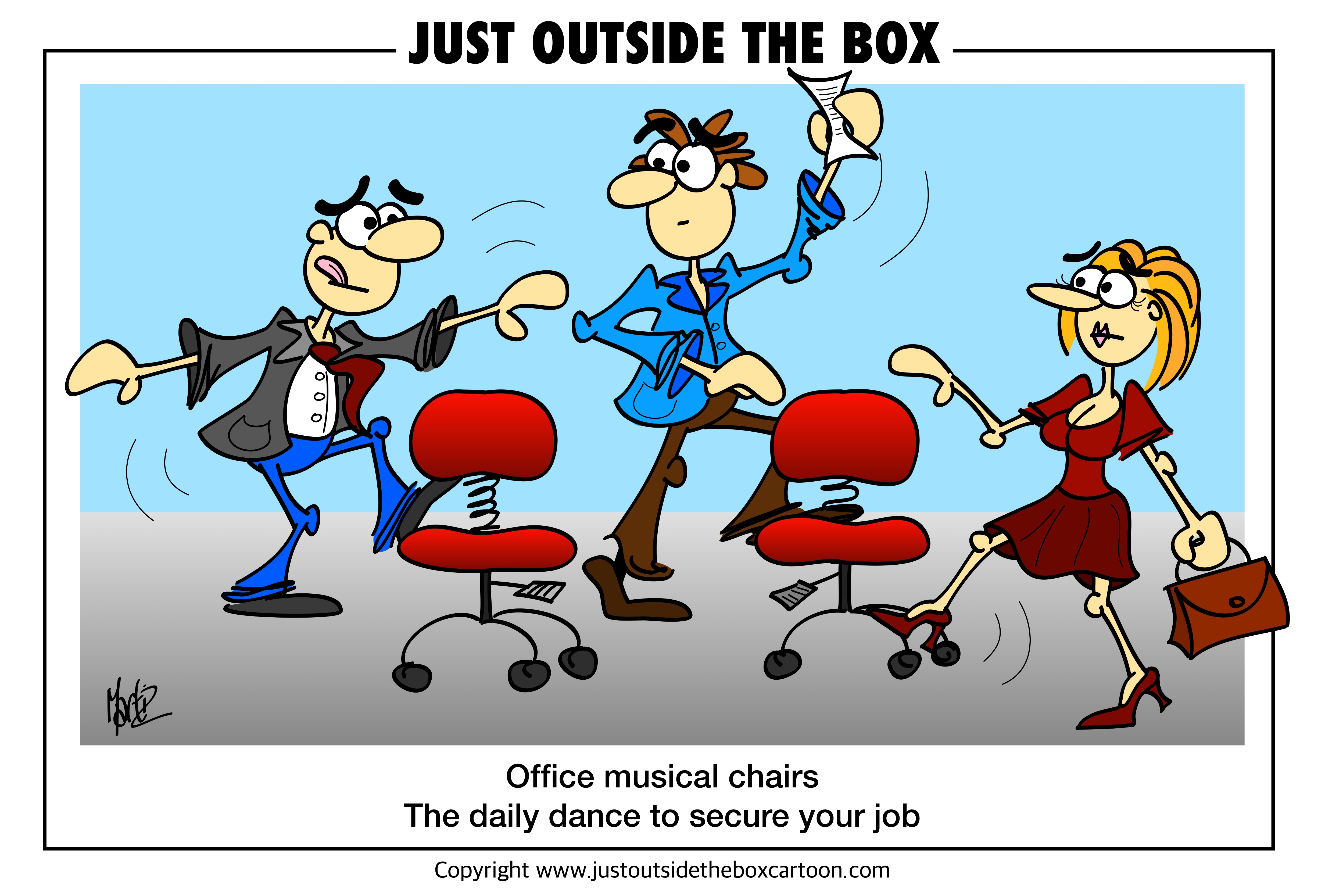work archives just outside the box cartoon. Black Bedroom Furniture Sets. Home Design Ideas