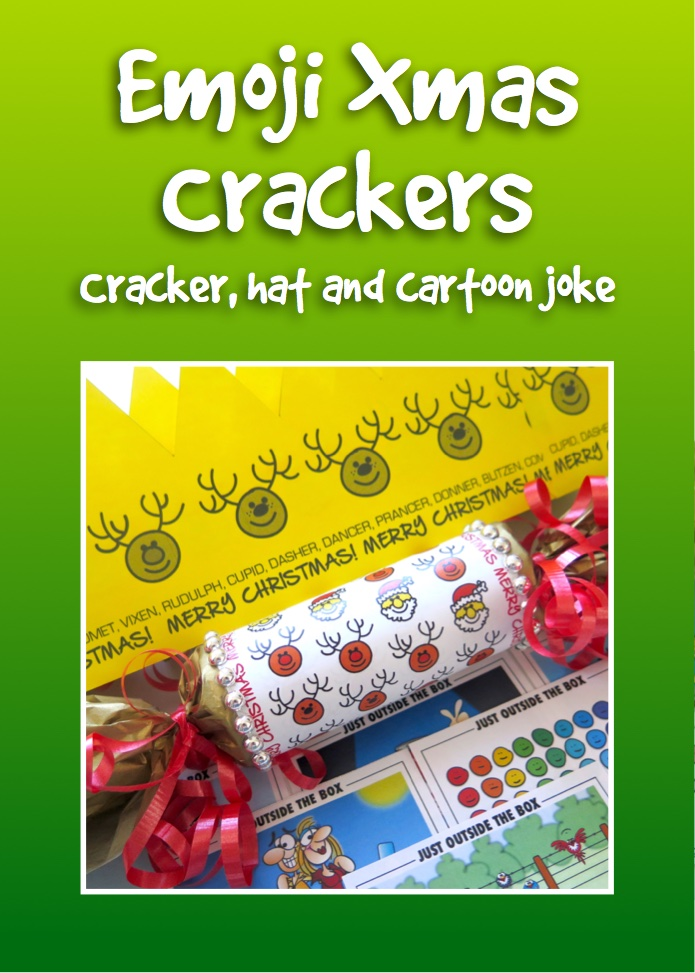Click for free Christmas cracker template