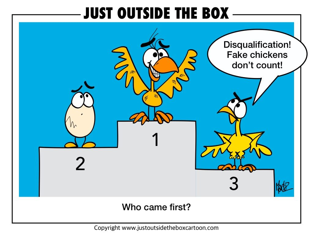 who came first -  the chicken or egg